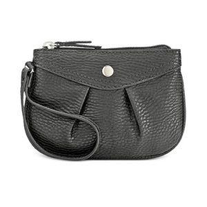 Style & Co Hannah Wristlet Coin Purse Black